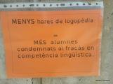 MENOS horas de logopeda supone MÁS alumnos condenados al fracaso en competencia lingüistica